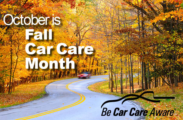 October is Time to be Car Care Aware